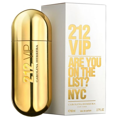عطر 212 vip الذهبي النسائي